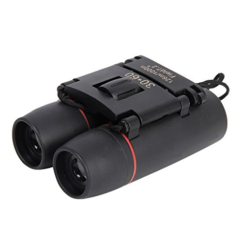 Generic Outdoor Mini Folding 30x60 Day Night Vision Zoom Binoculars Telescope 126m-1000m Camping