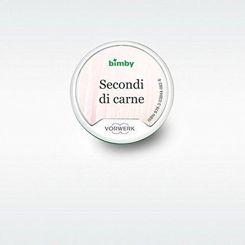 "Cles Recettes ""Secondi di Carne"" pour Thermomix TM5 Original Vorwerk (Versión Italiana)"