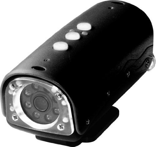 Rollei Action Cam 100 Camcorder (5 Megapixel, 8 helle weiße LEDs, 20m Wasserdicht, HD-Video-Auflösung) schwarz