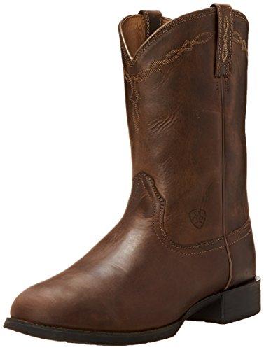 ARIAT - Männer Heritage Roper Roper/Lacer Western Schuhe, 49 M EU, Distressed Brown Ariat Lacer Boots