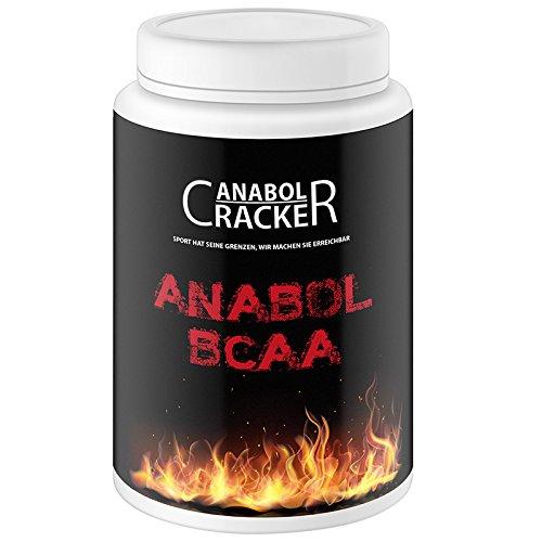 Anabol BCAA, 454g Dose, Aminosäuren Pulver, 2:1:1 Verhältnis 6300mg, Sonderangebot