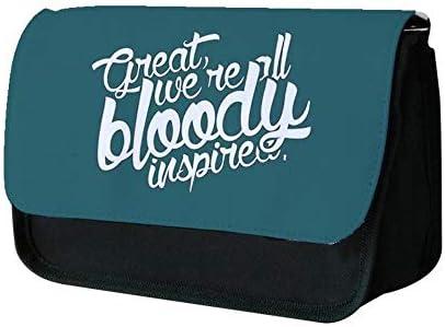 Great, We're All Bloody InspiRouge  - Maze Runner Pencil Case - Fun Cases B07L6F48NQ | Avoir à La Fois La Qualité De La Ténacité Et De Dureté