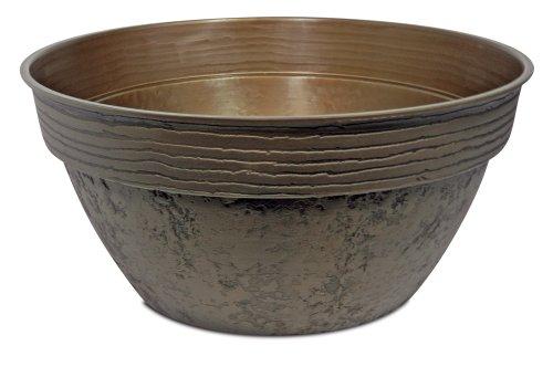 Klassische Bronze-schüssel (Listo Avino Schüssel, 33 cm, Keltisches Bronze)