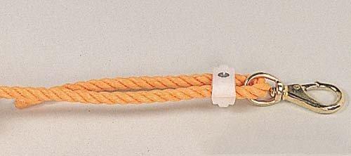 Bahnenmarkierung für Schwimmbecken, Orange PE-Seil, 12mm, Meterware