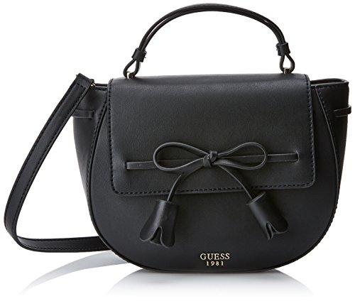 Guess Hwvg6964180, Women's Cross-body Bag, Black (Nero), 7.5x11x27.5 Cm (W X H L)