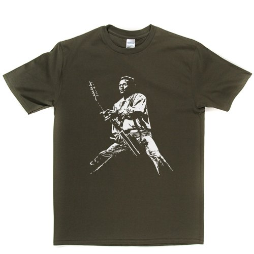 Chuck Berry American Guitarist Pioneers of Rock & Roll Music T-shirt Militärgrün