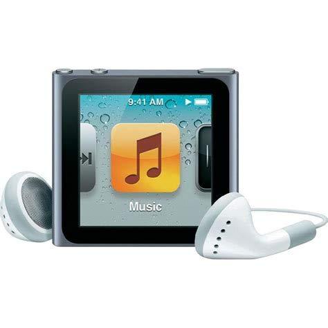 Apple Ipod Nano 6. Generation Grau 6G Silber 8GB