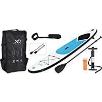 XQ Max Sup aufblasbares Stand Up Paddle Board Set 305 in Blau
