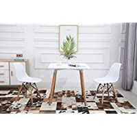 Mahmayi Dining Table and Chair Set - WHITE