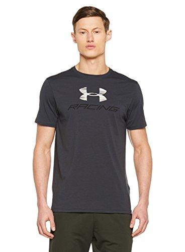 Under Armour Herren Racing Pack Shorts Sleeve Kurzarmshirt, Anthracite, LG (Lg T-shirt Sleeve)