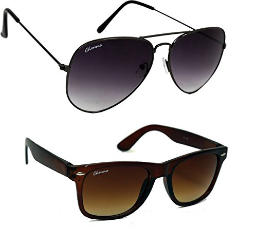 Chevera Wayfarer Sunglasses Multicolor (CHCOMBO-1020)