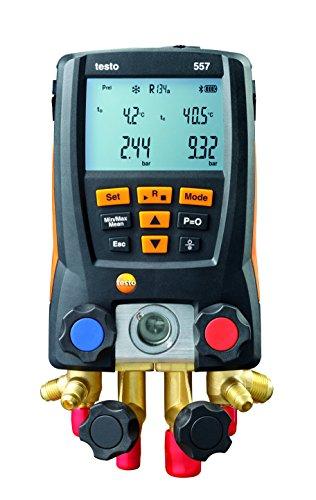 testo 557 Set- Digital Refrigeration Manifold (Bluetooth) for sale  Delivered anywhere in UK
