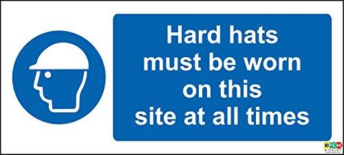 Baustelle Sicherheit Hard Mützen zu tragen, jederzeit Sicherheit...
