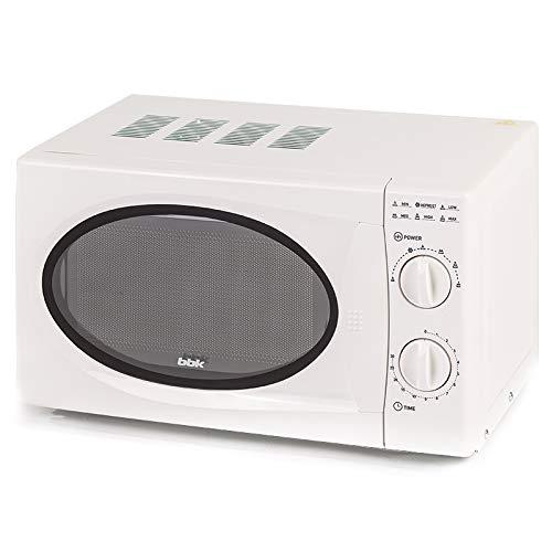 BBK Micro-Ondes 20MWS-715M/W, 20 litres, 700 Watts, Blanc W, 20 liters