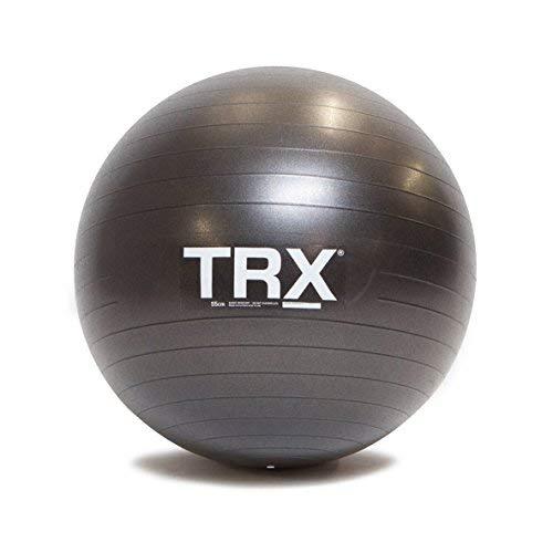 TRXTraining Stabilitätsball, Handgefertigt aus robustem, rutschfestem Vinyl (55cm Durchmesser)