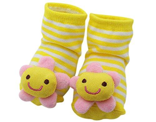 Kinder Schuhe Großhandel - BONAMART 3D Anti Rutsch Babysöckchen Stricken