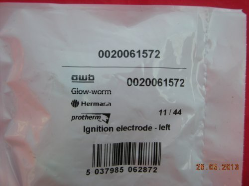 Glowworm Betacom 24C 30C links Hand Zündung Elektrode 0020061572