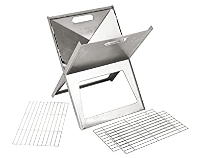 bo-camp Notebook Medium Grill silber