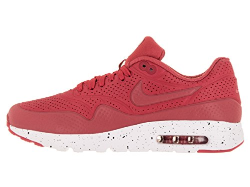 Nike Air Max 1 Ultra Moire, Chaussures de Sport Homme Rouge - Rojo (Rojo (Terra Red/Terra Red-White))