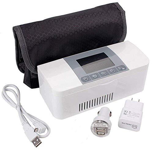 Medizin-Kühlschrank und Insulin-Kühler für Auto, Reisen, Wohnung-Portable Car Kühlschrank Case/Kleine Reisedatecke für Medikamente -