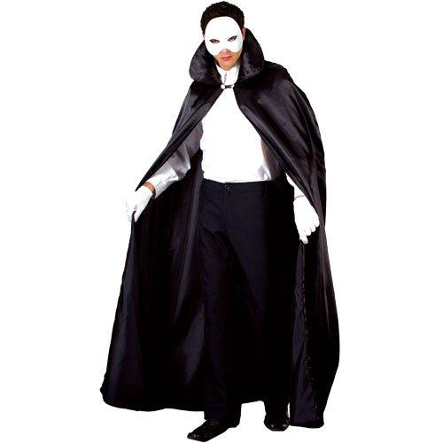 Der Herren Kostüm Oper Phantom - Phantom der Oper Theater Verkleidung für Männer Halloween Kostüm One Size