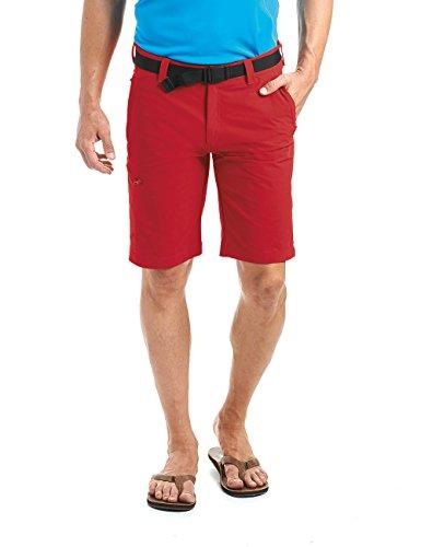 MAIER SPORTS Herren Bermuda, Outdoorhose/ Funktionshose/ Shorts inkl. Gürtel, bi-elastisc