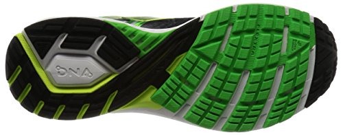 Brooks Ravenna 8, Chaussures de Course Homme Multicolore (Black/classic Green/nightlife)