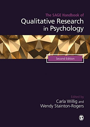 Read E Book Online The SAGE Handbook Of Qualitative Research In Psychology PDF