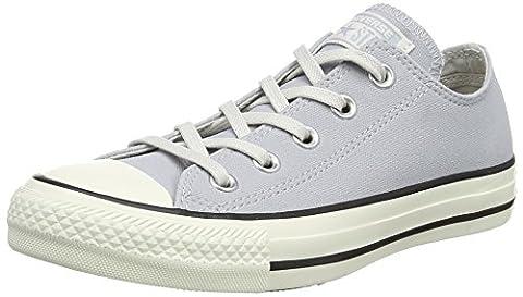 Converse Unisex-Erwachsene Chuck Taylor All Star Sneaker, Grau (Wolf Grey/Black/Egret), 40 EU