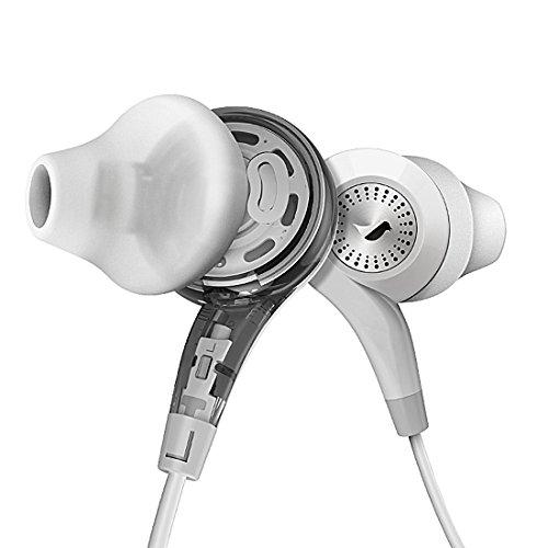 GranVela® Conch Ergonomico Fit In-ear Cuffie, Dual Dynamic Coassiale Driver Auricolari con Linea Microfono e Telecomando