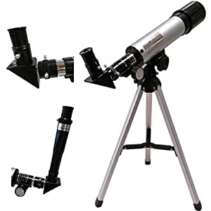 Dealcrox Land and Sky 90x Zoom Refractor Telescope Seeing Planets and Stars Moon