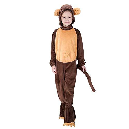 Weiblichen Kostüm Niedlich Einfach - AIYA Halloween Kostüm Kinder AFFE Kostüme Spielen nach Hause Kleidung Cosplay Kleidung