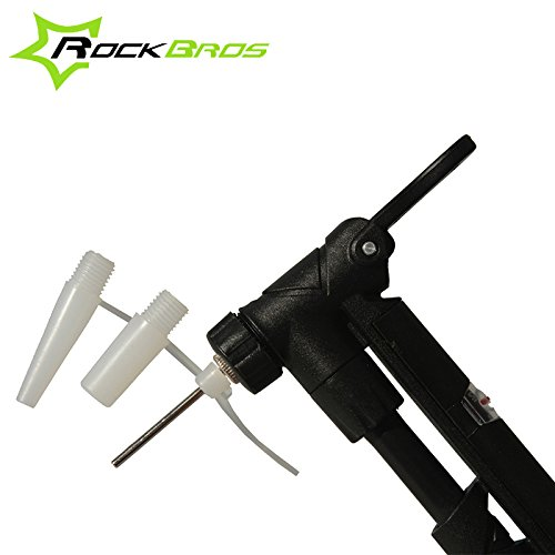 darpy (TM) Ultra Léger de vélo accessoires vélo Pompe à gaz Convertisseur Embout pour valve Schrader, Presta et basket-ball