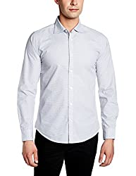 United Colors of Benetton Mens Casual Shirt (8903975381957_17P5AC92U008I903_Small_Black)