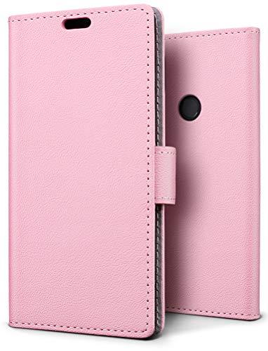 SLEO Funda para Xiaomi Redmi Note 6 Pro Carcasa Libro de Cuero Ultra Delgado Billetera Cartera [Ranuras de Tarjeta,Soporte Plegable,Cierre Magnético] Case Flip Cover