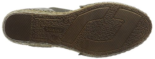 Rieker Damen 68978 Geschlossene Sandalen mit Keilabsatz - 3