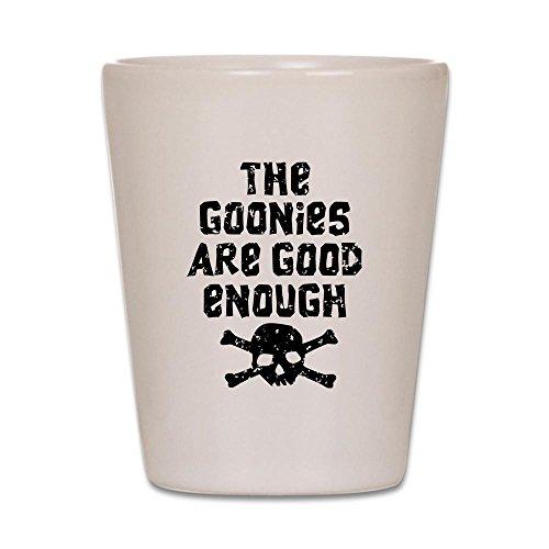 CafePress The Goonies?? Schnapsglas weiß