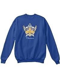 Teespring Men's Novelty Slogan Sweatshirt - Clarence Power Of Clarence Cross