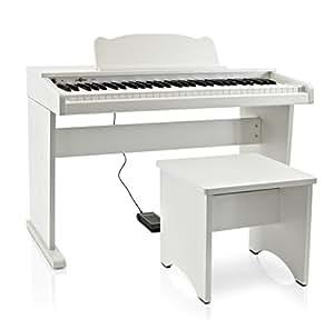 Piano Junior numérique JDP-1 par Gear4music blanc