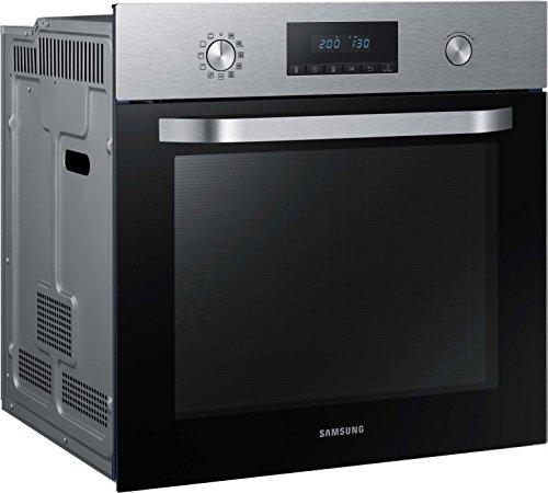 Samsung Dual Fan NV70K2340BS/EG Backofen (Elektro/Einbau)/56,6 cm/Katalyse Reinigung/Automatikprogramme/XXL-Garraum/Silber