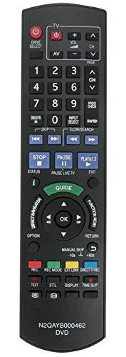 ALLIMITY N2QAYB000462 Fernbedienung Ersetzt für Panasonic DVD Recorder DMR-EX72S DMR-EX72SEG DMR-EX72SEGK DMR-EX72SEGS DMR-EX769EB DMR-EX769EF DMR-EX773EBK DMR-EX773EB-K DMR-EX79 DMR-EX83EB