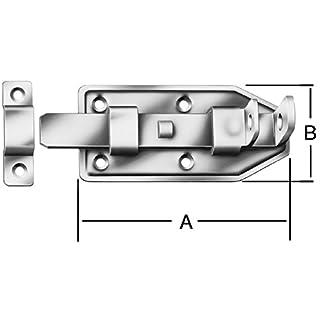 August Vormann + Co. Türschlossriegel Breite 56mm Länge 140mm gerade 000105140Z