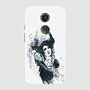 Back cover for Moto X (2nd Gen) Gothic art