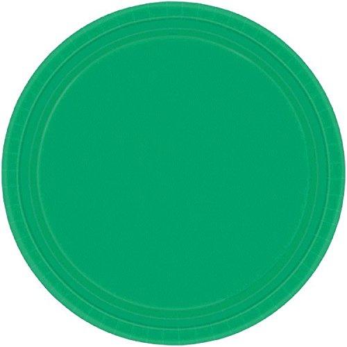Imagen 3 de Amscan Internacionales Placas 17.7cm (verde festivo)