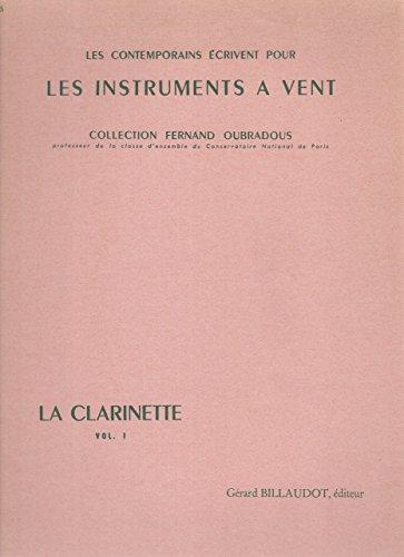 La Clarinette : Oeuvres pour clarinette ...