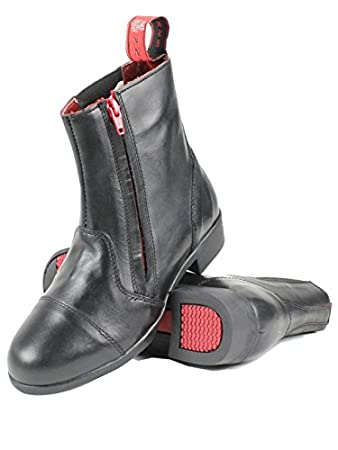 Mink Horse Men's Short Jodhpur Riding Boots with Outside Side ...