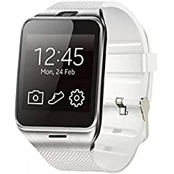 Kolylong Für Samsung,HTC,Sony,LG,Huawei,ZTE,OPPO,XIAOMI,iPhone 6,iPhone 6 plus,iPhone 5,iPhone 5s,iPhone 4, iPhone 4s Android und iOS Handy GV18 APLUS Bluetooth GSM NFC wasserdichte Armbanduhr Weiß