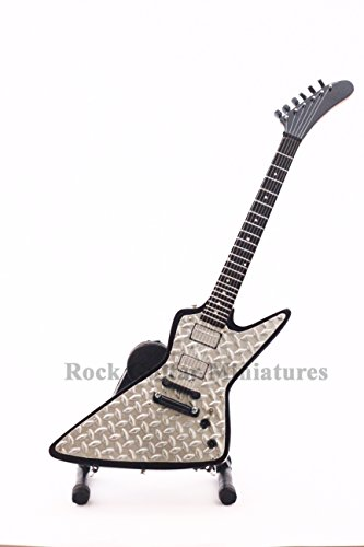 RGM96 James Hetfield Metallica Diamond Plate Explorer chitarre in miniatura