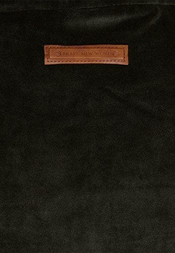 Naketano Male Hoody Schwanzus Longus Mack III Dark Olive