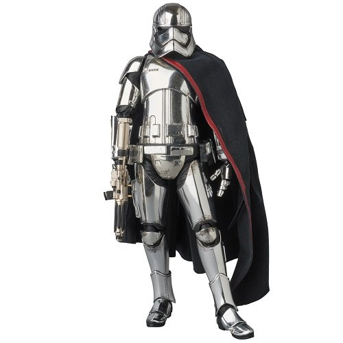 Medicom MAFEX CAPTAIN PHASMA Star Wars : The Force Awakens Non-scale ABS & ATBC-PVC painted action figure